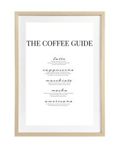 Taulu Coffee Guide 50x70cm DECO