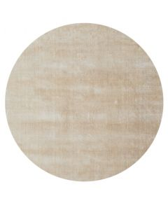 Viskoosimatto Ø180cm beige FLAVIA