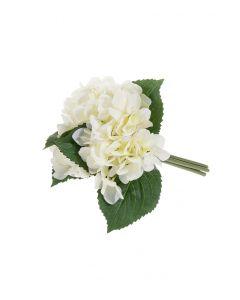 Hortensiakimppu valk. 24cm BLOSSOM