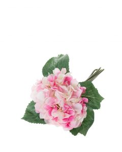Hortensiakimppu pinkki 24cm BLOSSOM